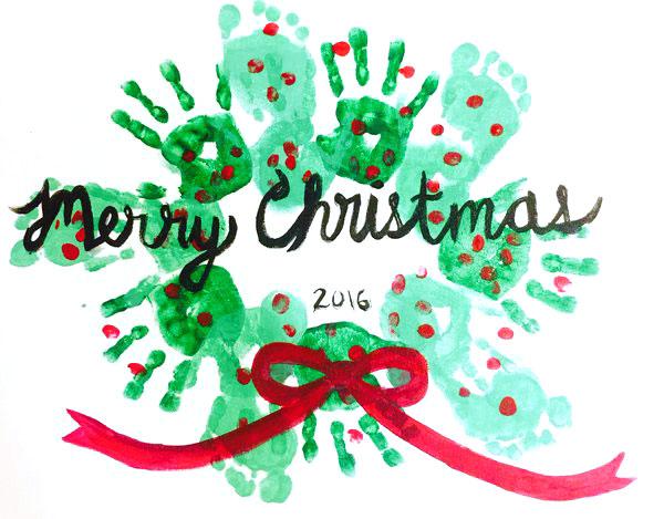 Family Christmas Wreath