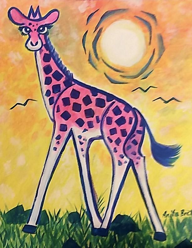 Sunny Giraffe