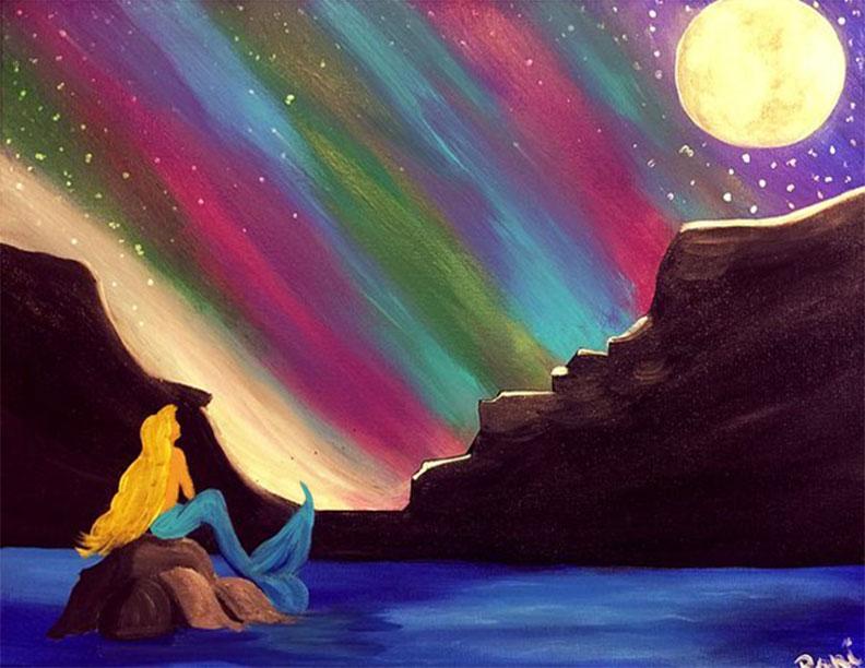 Mermaid's Northern Lights