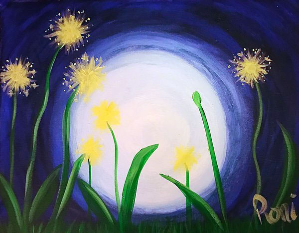 Midnight Dandelions