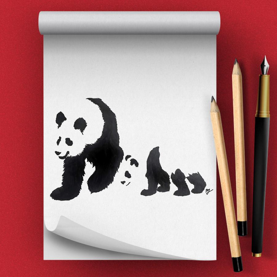 Pandas Drawing Class