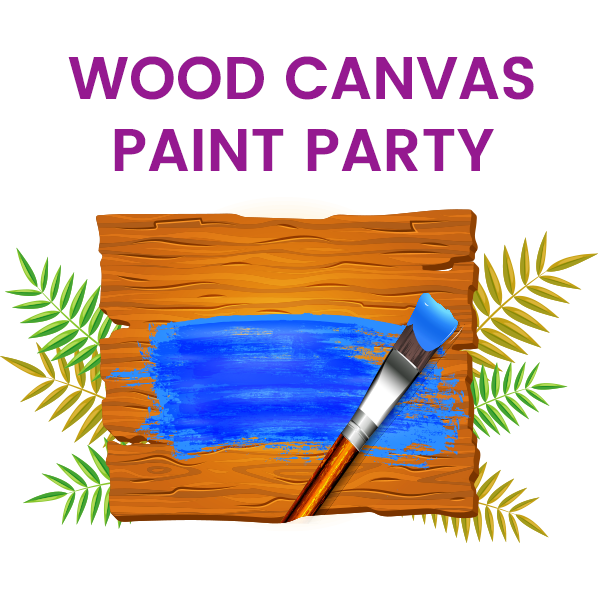 Wood Canvas Painting Party