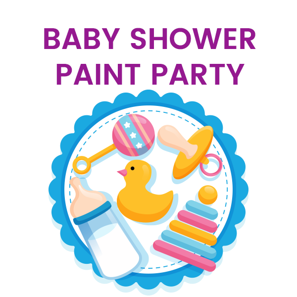 Baby Shower Paint Party