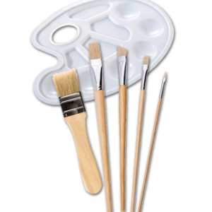 brushes-palette