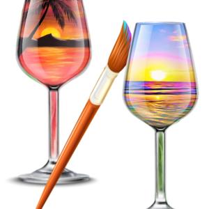 wine-glass-sunset